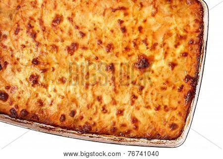 Close-up Of Traditional Lasagna
