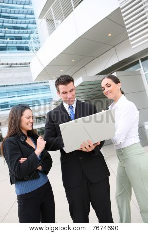 Man And Woman Business Team