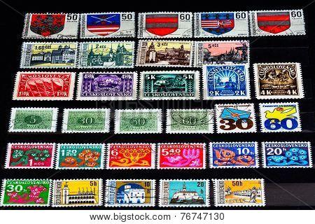 Ceskoslovenko stamp album