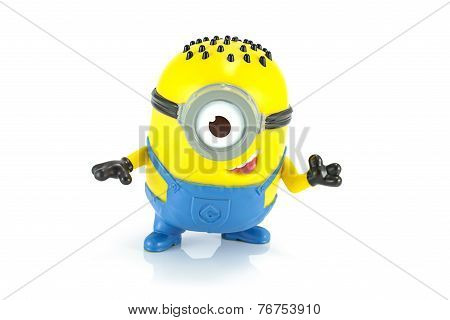 Carl Minion Mcdonalds Happymeal Toy