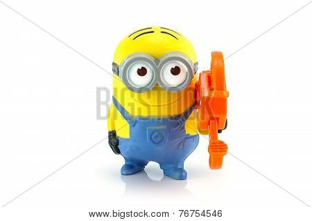 Minion Dave Gadget Grabber Toy Character