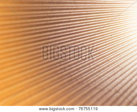 Lights Abstract - Corrugated Cardboard Surface