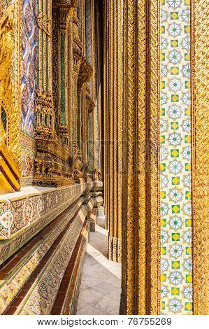 Decorations In Wat Phra Kaew