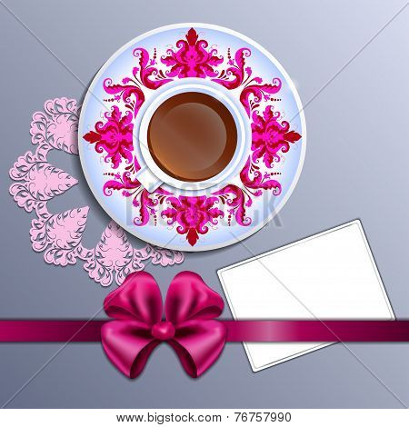 A Cup Of Tea And Card
