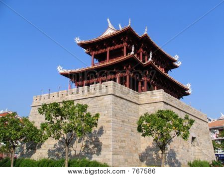 Ancient Chinese Pagoda