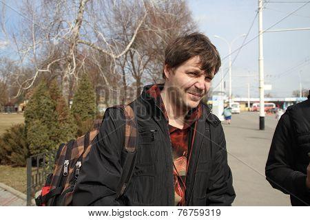 Journalist Andrew Kozenko