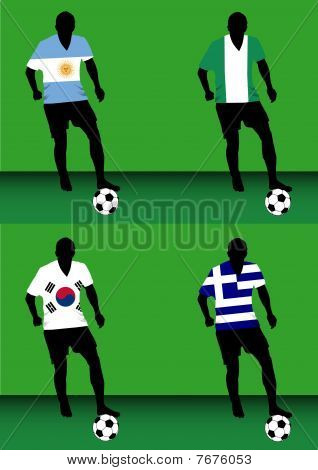 Soccer players - Group B