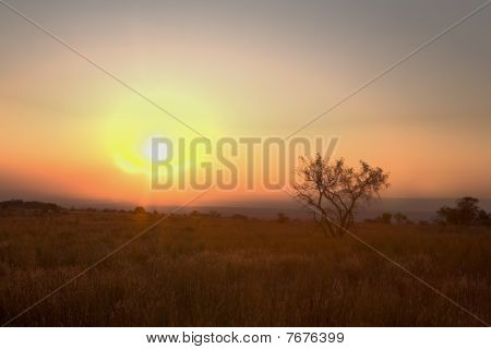 Limpopo Mountain Sunset