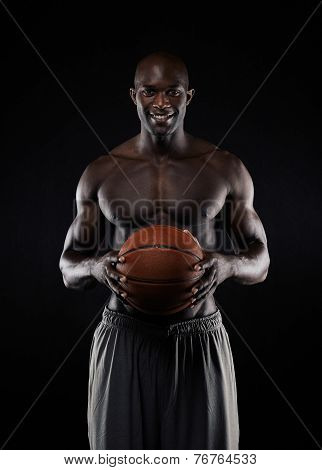 African Basketball Player