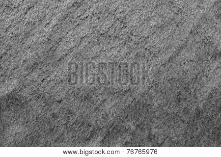 Smooth Fleecy Texture Of Gray Color