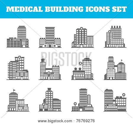 Medical building black
