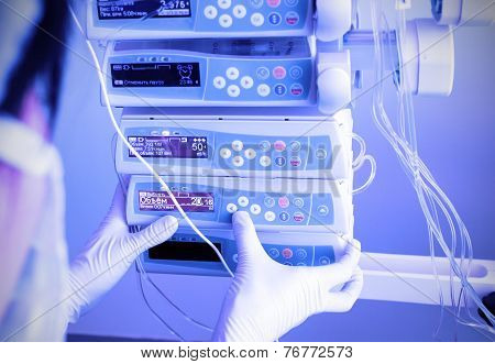 Work With Medical Equipment