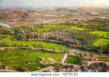 Hampi Valley In India