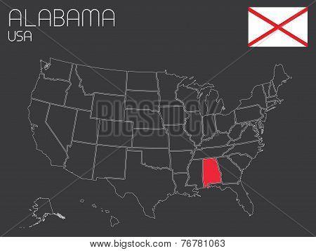 Usa-states-selectedstate_ Alabama