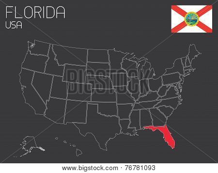 Usa-states-selectedstate_ Florida