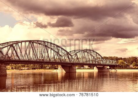 Bridge In Poland