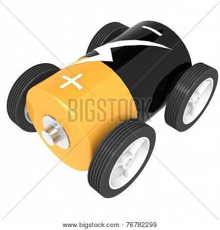 Isolated Battery Car