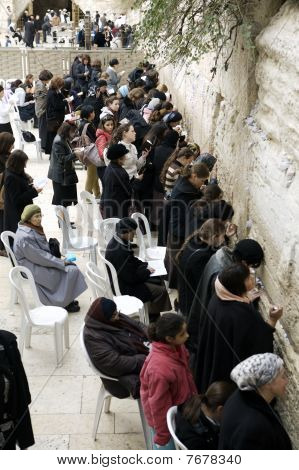 Wailing Wall - Women's side