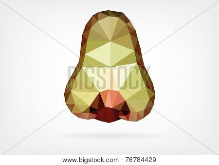 Low Poly Makopa (java wax apple)