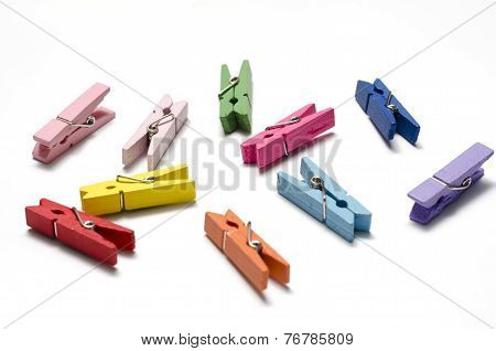 Colorful Cloth Pin
