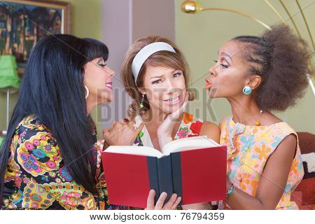 Sentimental Friends Reading Novel
