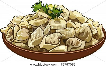 Dumplings On A Platter.eps