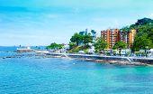 foto of carnival brazil  - Farol da Barra Beach in Salvador - JPG