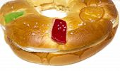 image of epiphany  - A Typical spanish seasonal pastry  - JPG