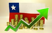 picture of pesos  - currency appreciation illustration  - JPG