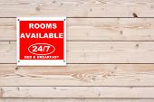 stock photo of bed breakfast  - ROOMS AVAILABLE 24 - JPG