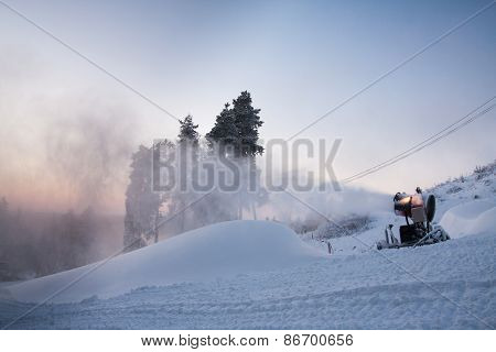 Making Snow