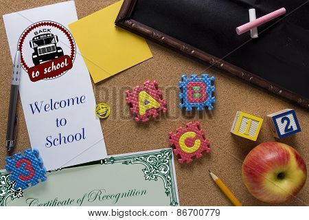 Symbolic Poster Welcome Back To School