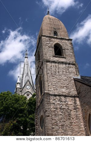 Church Spires in the Hill Country
