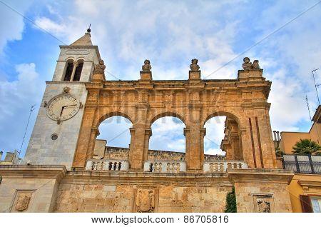 Sedile Palace. Bari. Puglia. Italy.