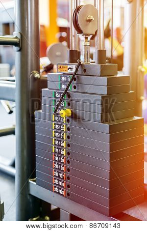Weight Of Stack In Gym