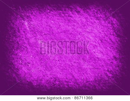 Violet Grunge Textured Wall. Copy Space