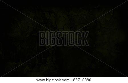 Dark Yellow Grunge Textured Wall. Copy Space
