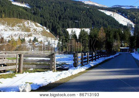 Winter Alps Austria