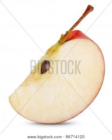 Red Apple Slice