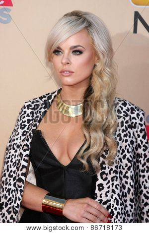 LOS ANGELES - MAR 29:  Katy Tiz at the 2015 iHeartRadio Music Awards  at the Shrine Auditorium on March 29, 2015 in Los Angeles, CA