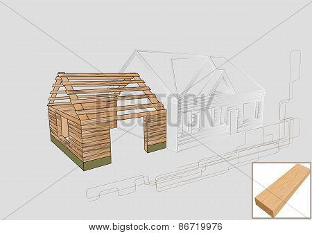 Barn Detail Wood