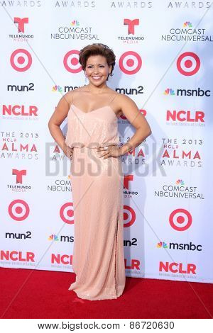 LOS ANGELES - SEP 27:  Justina Machado at the 2013 ALMA Awards - Arrivals at Pasadena Civic Auditorium on September 27, 2013 in Pasadena, CA