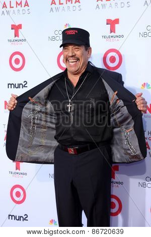 LOS ANGELES - SEP 27:  Danny Trejo at the 2013 ALMA Awards - Arrivals at Pasadena Civic Auditorium on September 27, 2013 in Pasadena, CA