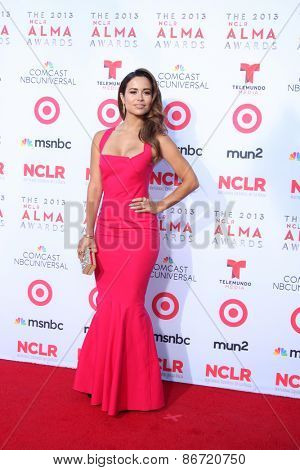 LOS ANGELES - SEP 27:  Zulay Henao at the 2013 ALMA Awards - Arrivals at Pasadena Civic Auditorium on September 27, 2013 in Pasadena, CA