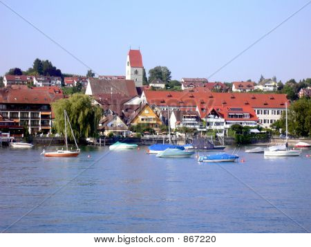 Boats and German Town