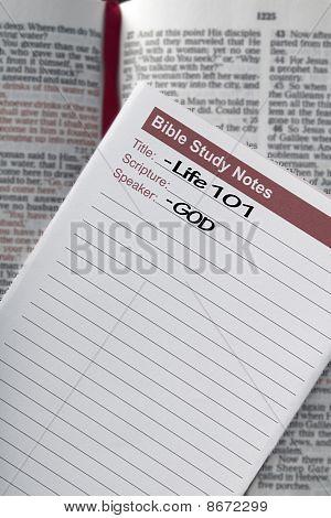 Bible Study Notes,  Life101