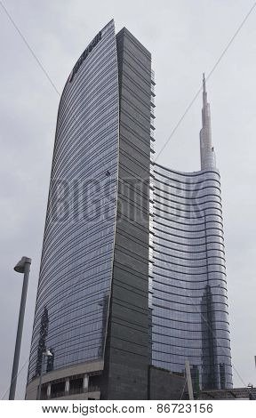 Unicredit Tower Building