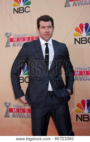 LOS ANGELES - MAR 29:  Billy Eichner at the 2015 iHeartRadio Music Awards at the Shrine Auditorium on March 29, 2015 in Los Angeles, CA