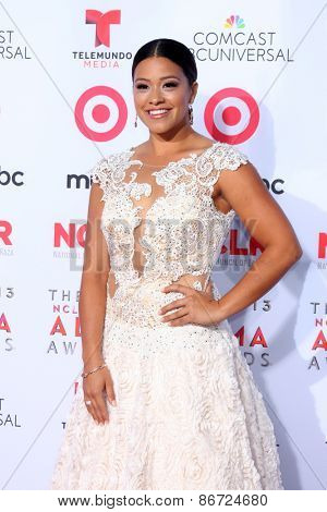 LOS ANGELES - SEP 27:  Gina Rodriguez at the 2013 ALMA Awards - Arrivals at Pasadena Civic Auditorium on September 27, 2013 in Pasadena, CA