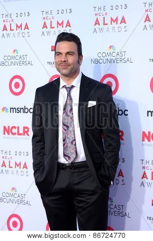 LOS ANGELES - SEP 27:  Ricardo Antonio Chavira at the 2013 ALMA Awards - Arrivals at Pasadena Civic Auditorium on September 27, 2013 in Pasadena, CA